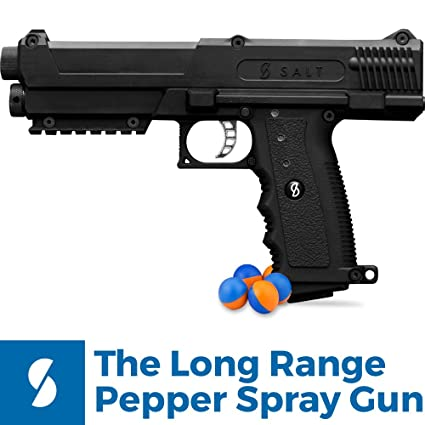amazon com salt supply pepper spray gun self defense kit sports