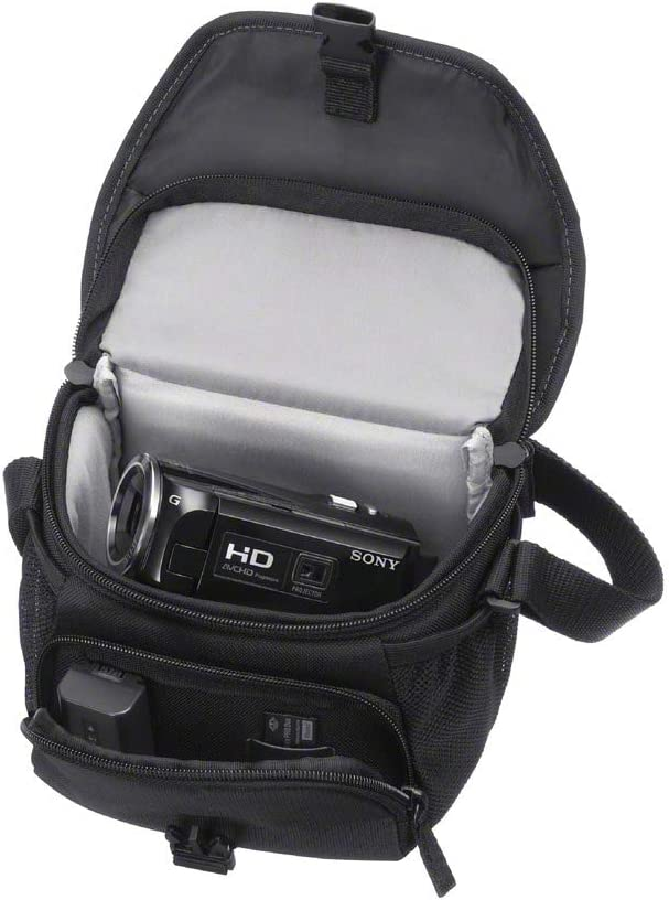 Sony LCSU11/B - Bolsa de transporte para cámara/videocámara, color ...
