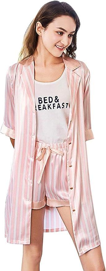 Conjunto De Pijama Mujer Verano Flecos Pijamas Mujer Shorts ...