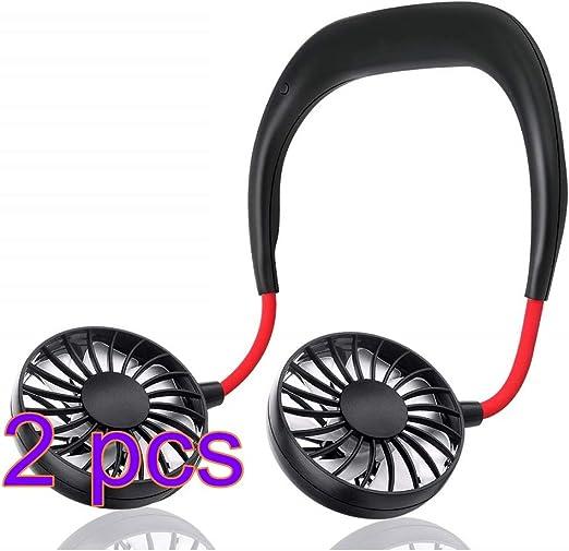 Mini Ventilador USB Auricular Personal Portátil Banda para el ...