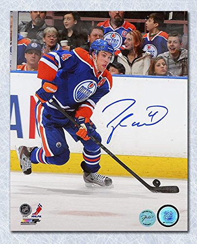 7cea2457f Image Unavailable. Image not available for. Color  Signed Taylor Hall Photo  ...