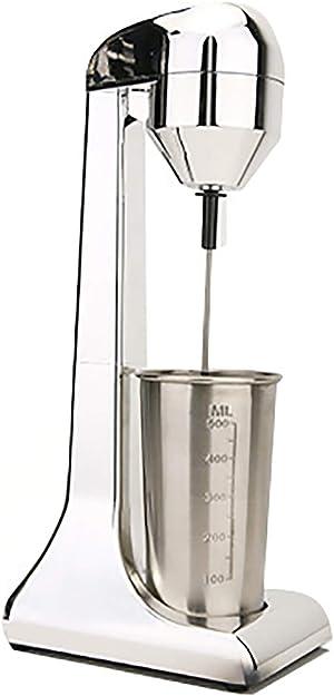 Electric Milkshake Maker Machine Stainless Steel Milkshake Machine (Red)