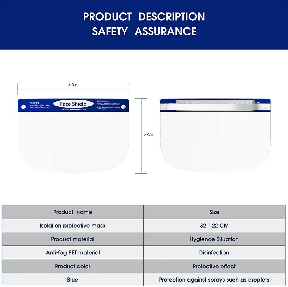 Highpot 10PCS Buckle Belt Adjustable Strap Extender Face Cover Extension Hook Ear Wear Type Buckle for Ear Hurt Release Blue