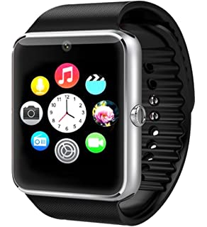Amazon.com: Bluetooth A1 Smart Watch for iPhone iOS, Android ...