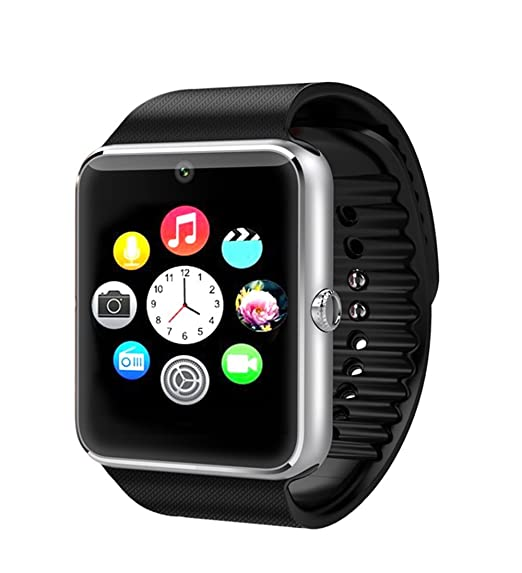 1b816c7e1 Image Unavailable. Image not available for. Color  GT08 Bluetooth Smart  Watch with Camera and SIM ...