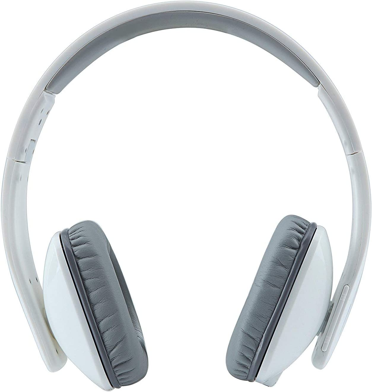 WhiteLabel On Ear Bluetooth Headphones, Standard Style (WL558+White Gray)