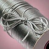 Silver Rat Tail Cord, 2mm X 200Yd