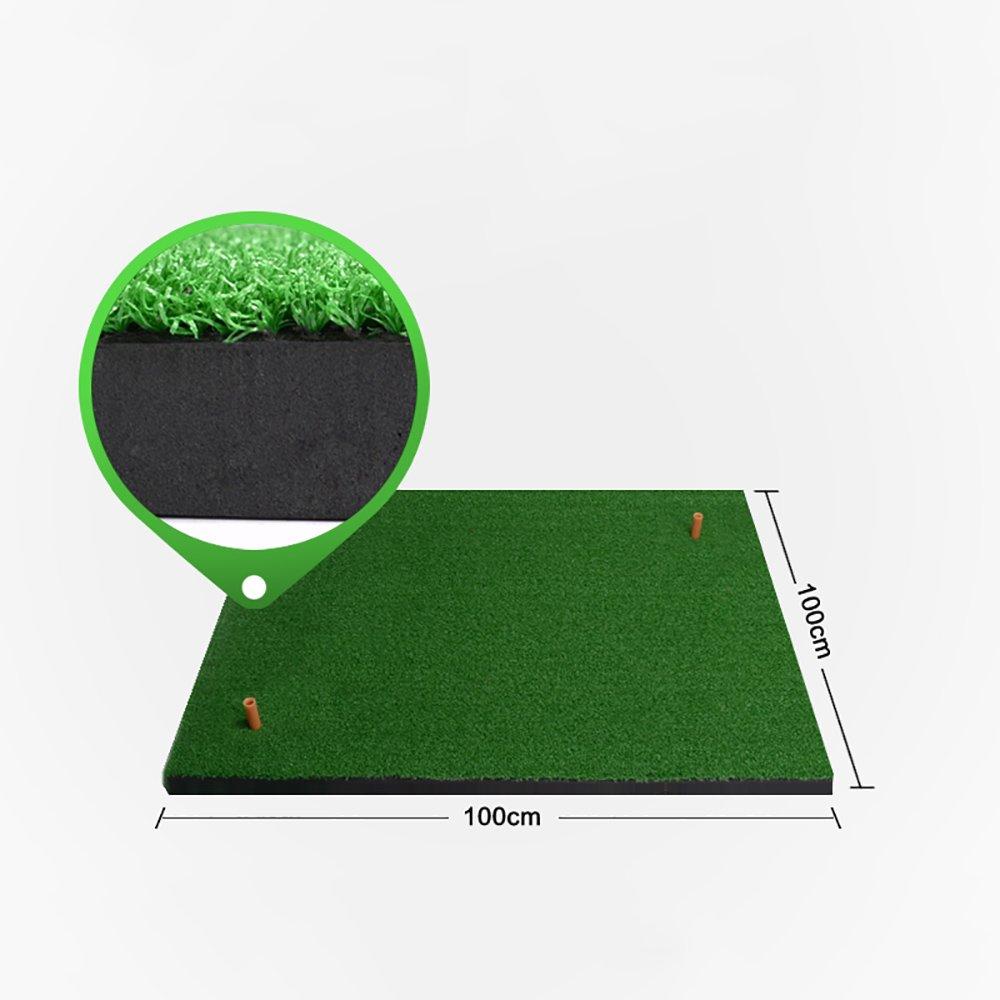 ゴルフヒットパッドスイングプラクティスマット 100*100cm 2# B07FNR657D