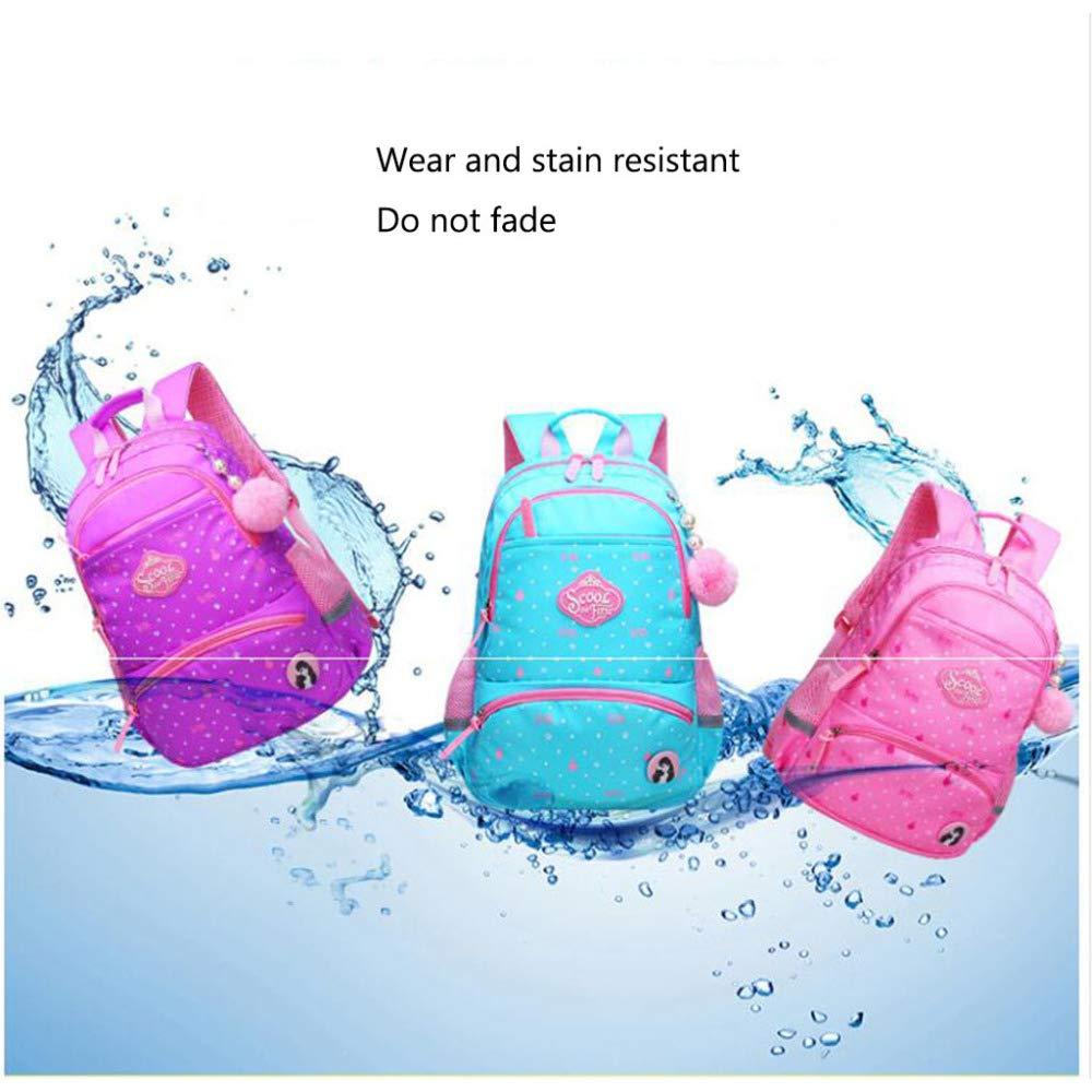 SEJNGF Kinder Schultasche 1-6 Grade Wasserdichter Rucksack Rucksack Rucksack Kinderrucksack Leicht B07HQQ2HBT | Verschiedene Arten und Stile  6be6a5