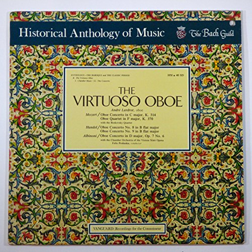 (The Virtuoso Oboe (Historical Anthology of Music / The Bach Guild))