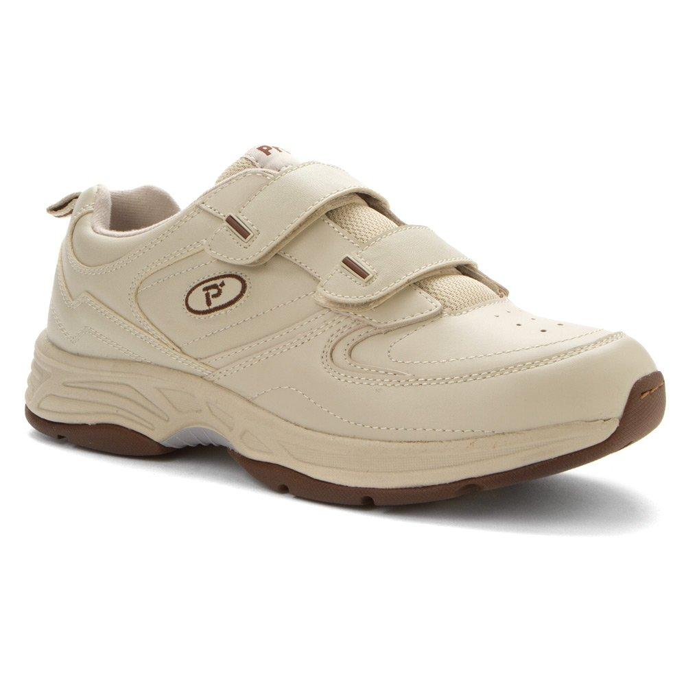 Propet Men's Warner Strap Walking Shoe 10 4E US Sport White