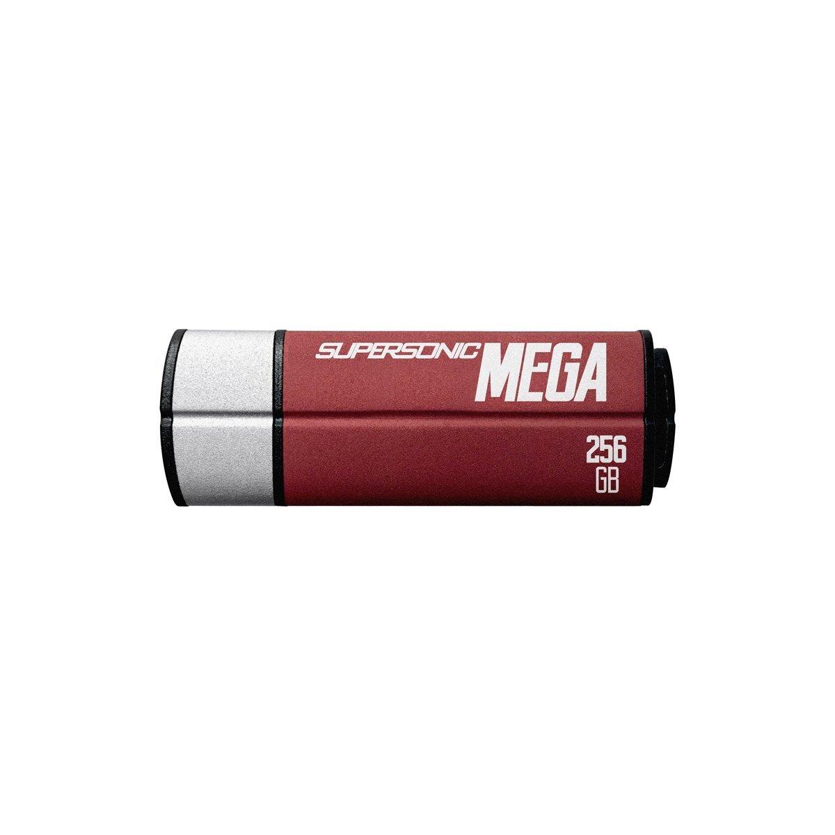 Patriot 256GB Supersonic Mega USB 3.1/USB 3.0 Flash Drive With Up To Read 380MB/sec & Write 70MB/sec- PEF256GSMGUSB