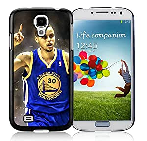 Fashionable Antiskid Cover Case For Samsung Galaxy S4 I9500 i337 M919 i545 r970 l720 With Golden State Warriors Stephen Curry 3 Black Phone Case
