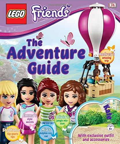 LEGO FRIENDS: The Adventure Guide: DK: 9781465435491: Amazon.com: Books