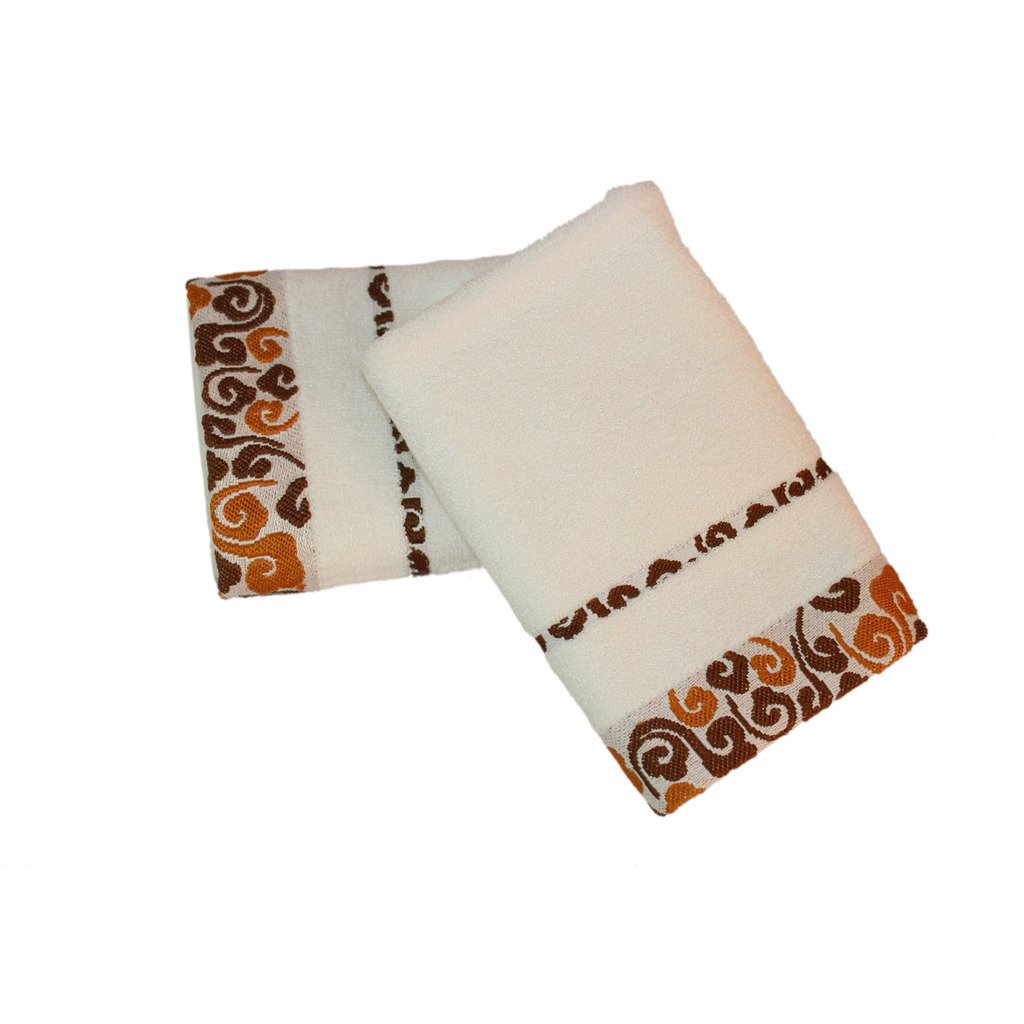 ZGK-TOWEL 100% Bamboo Fiber Hand Towel Luxury Home Washcolth Bathroom Hotel SPA Travel Microfiber Wash Cloth Soft Towels Set White,2-Piece Set