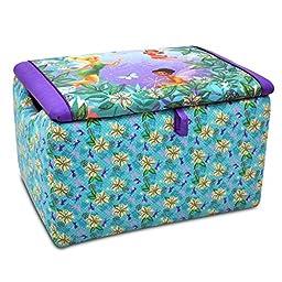 Disney Fairies Floral & Purple Toy Box