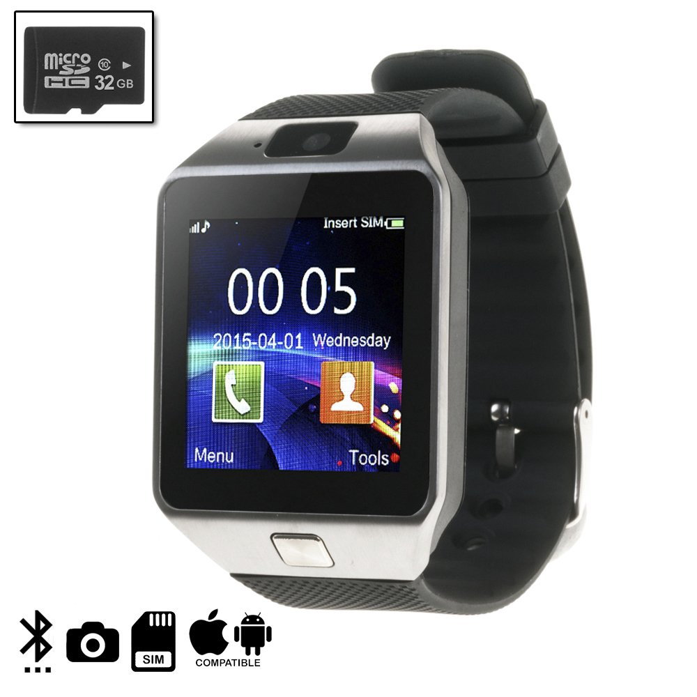 DAM DMIOSN235SD32 - Smartwatch Ártemis BT Compatible con iOS ...