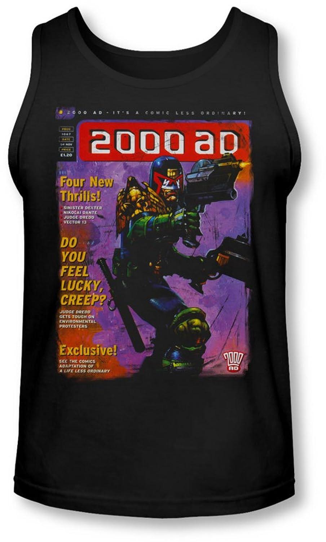 Judge Dredd - Mens 1067 Tank-Top