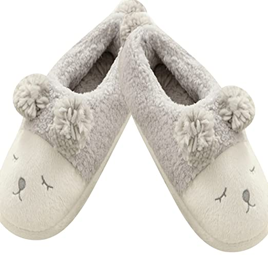 850df8d74f3 Image Unavailable. Image not available for. Color  Shuohu Women s Winter  Home Slippers