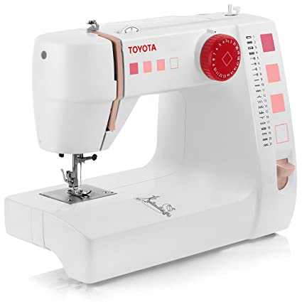 Amazon TOYOTA Super Jeans Sewing Machine WhiteRed Classy Jeans Machine White Sewing Machine