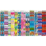 72 Assorted Pencils with erasers on top