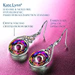 Kate-Lynn-Womans-Nirvana-of-Phoenix-Swarovski-Crystals-Earrings-with-Gift-Box-Soft-Cloth