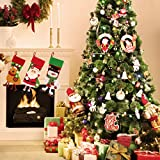 Image of Codream 7ft Artificial Christmas Trees with Stand for Christmas Decorations