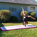 BATURU Inflatable Air Track Gymnastic Tumbling 9.8 ft Air Floor Mat