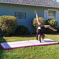 BATURU Inflatable Air Track Gymnastic Tumbling 9.8 ft Air Floor Mat