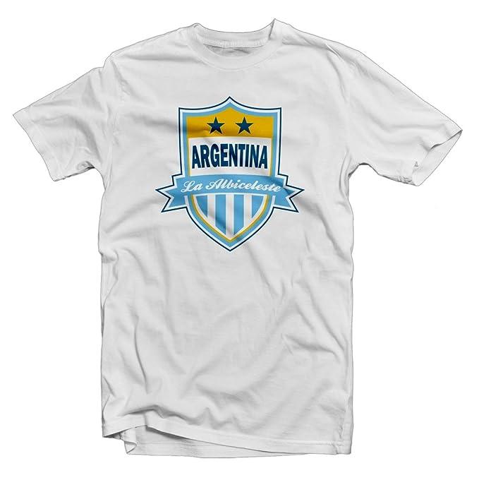 Amazon.com: Argentina la albiceleste Legend Tee: Gabriel ...