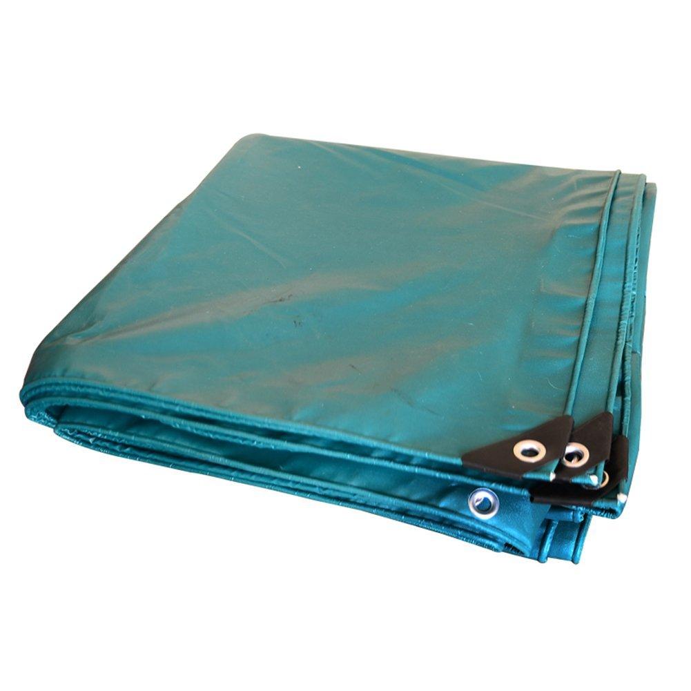 Regenschutz Wasserdicht Starke Plane im Freien, staubdichtes Windproof Anti-korrosionsanti-Oxidation der LKW-Plane im Freien (Farbe   A, größe   4x4M)