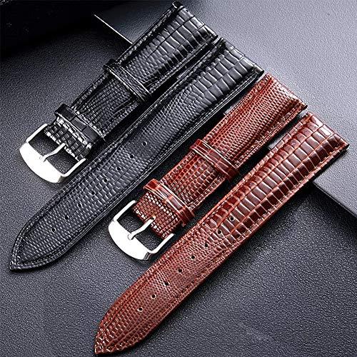 26031de97 SIFEIRUI-Quality Genuine Lizard Leather Watch Band 2 Piece Watch Strap Quick  Release