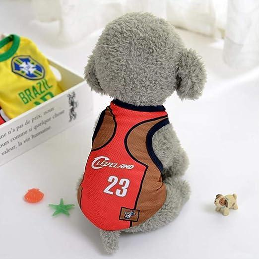 Copa del Mundo Jersey De Perro, Camiseta De Fútbol Perros Disfraz, Pijama De Perro De Fútbol Nacional FIFA Jersey Gatos Onesie para Perros Y Gatos M B: Amazon.es: Productos para mascotas