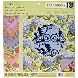K&Company 12-by-12-Inch Tim Coffey Cottage Garden Specialty Paper Pad