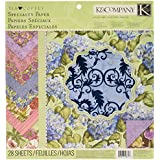 K&Company Tim Coffey Cottage Garden Specialty Paper Pad, 12-by-12-Inch
