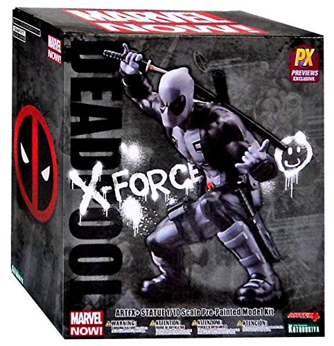 [Marvel ArtFX Marvel Now Deadpool Exclusive 1:10 Statue [X-Force Variant]] (Deadpool Costume Variants)
