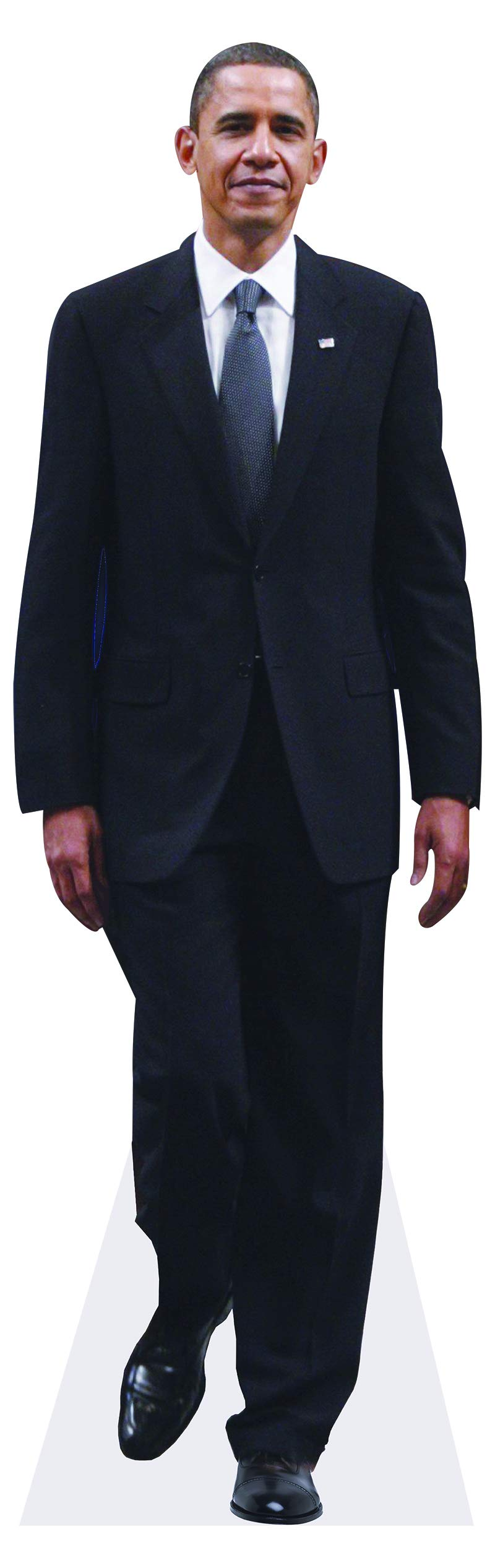 President Barack Obama Life-Size Standup Poster by aahs!! Engraving
