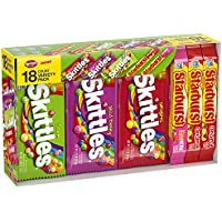 18-Count Skittles & Starburst Full Size Candy Variety Mix