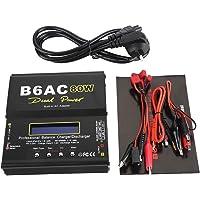 80W LCD Digitale Batterij Balans Lader 1-6 Cellen LiPo Batterijontlader voor Li-Ion Li-Po NiCd Ni-MH RC Batterij