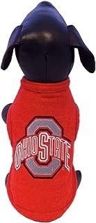 product image for NCAA Ohio State Buckeyes Sleeveless Polar Fleece Dog Sweatshirt, Small