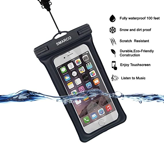 separation shoes e45d8 fd84e Amazon.com: [IPX8 Certified]SMARCO TPU Floating Waterproof Bag With ...