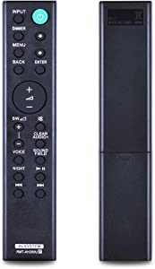 New Replacement Remote Control RMT-AH200U for Sony Home Theater System, Compatible with SACT380 HT-RT4 HT-CT390 HT-RT40 SA-WCT390 HT-RT3 SA-WRT3 SA-CT390 HT-RT3