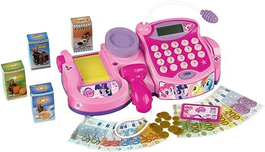 Theo Klein 9328 - My Little Pony Caja Registradora Electrónica con Scáner Y Báscula: Amazon.es: Juguetes y juegos