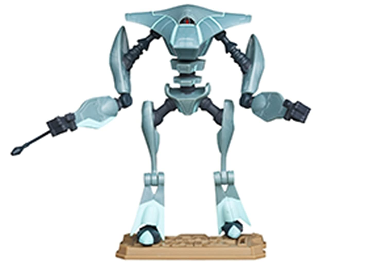 "Star Wars Clone Wars Animated CW10 Aqua Droid 3 3//4/"" Action Figure"