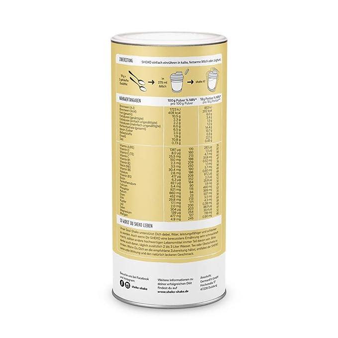 HerbaVitalis Diet Shake 25er (VANILLA): Amazon.es: Salud y cuidado personal