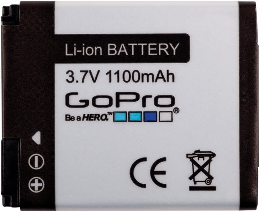 GoPro Camera AHDBT-002 Rechargeable Li-Ion Battery for HD HERO/HD HERO2 Camera (Discontinued by Manufacturer)