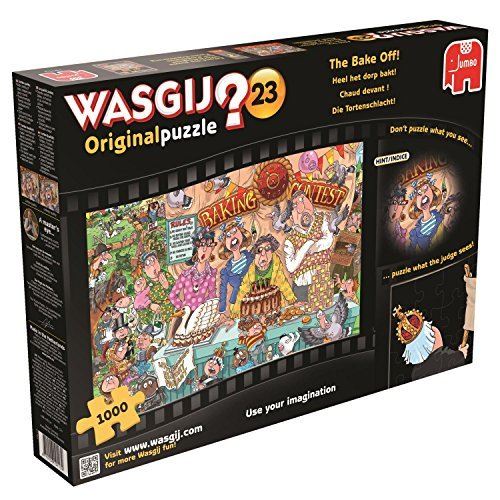 Puzzle Jigsaw Jumbo Wasgij Original 23 The Bake Off! (1000-Pi?ces) by Wasgij