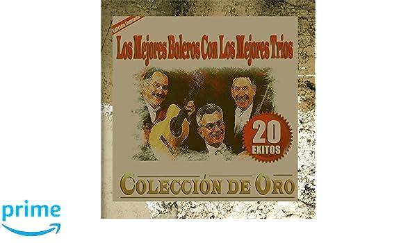 Los Mejores Boleros Con Los Mejores Trios - Coleccion de Oro 20 Exitos - Amazon.com Music