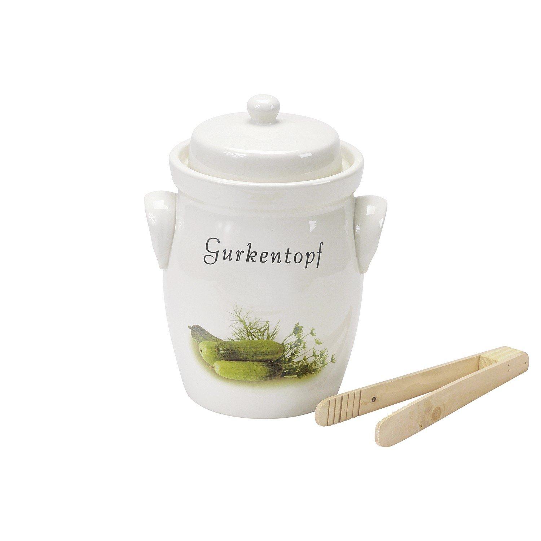 Gurkentopf 5.0 Liter Pickling and Fermenting Pot by Nik Schmitt