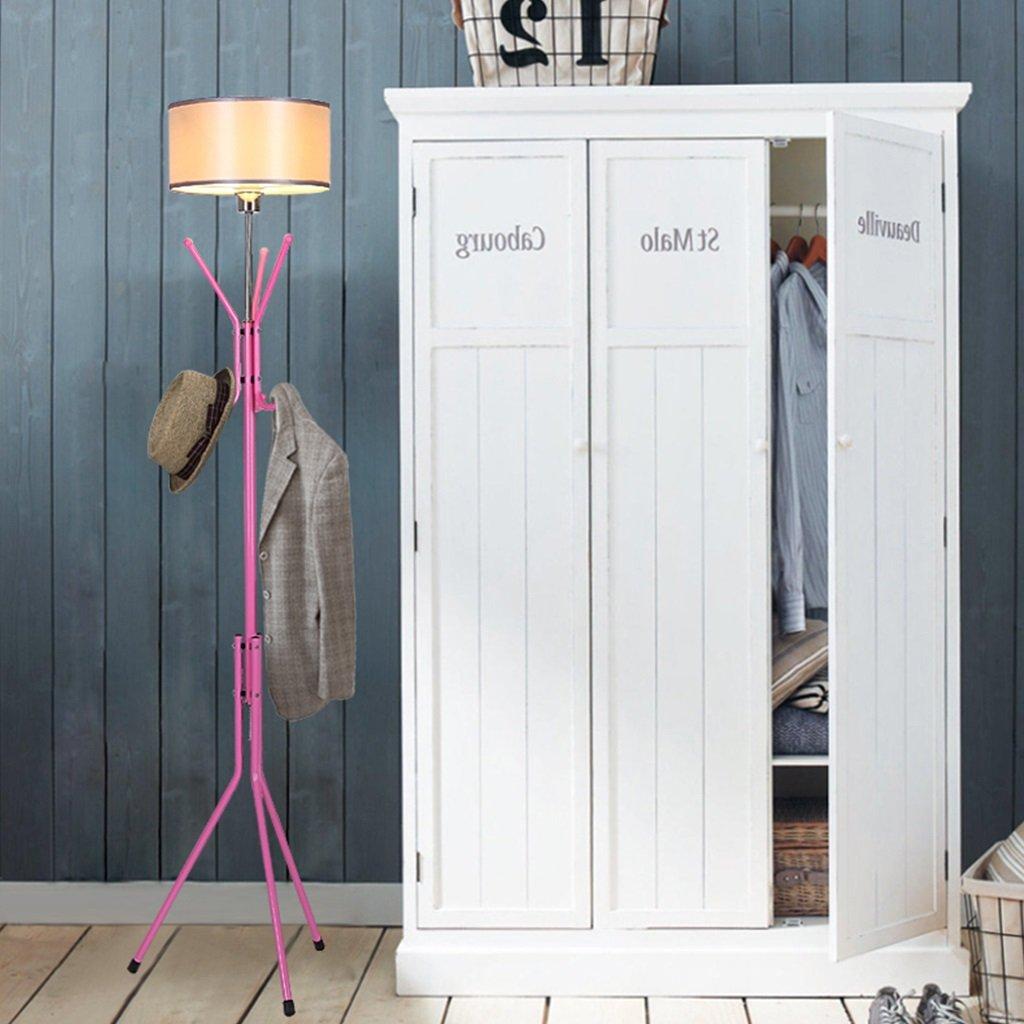 Nordic Retro Schlafzimmer Wohnzimmer Eisen Racks Stehlampen Standleuchten (Farbe   G)